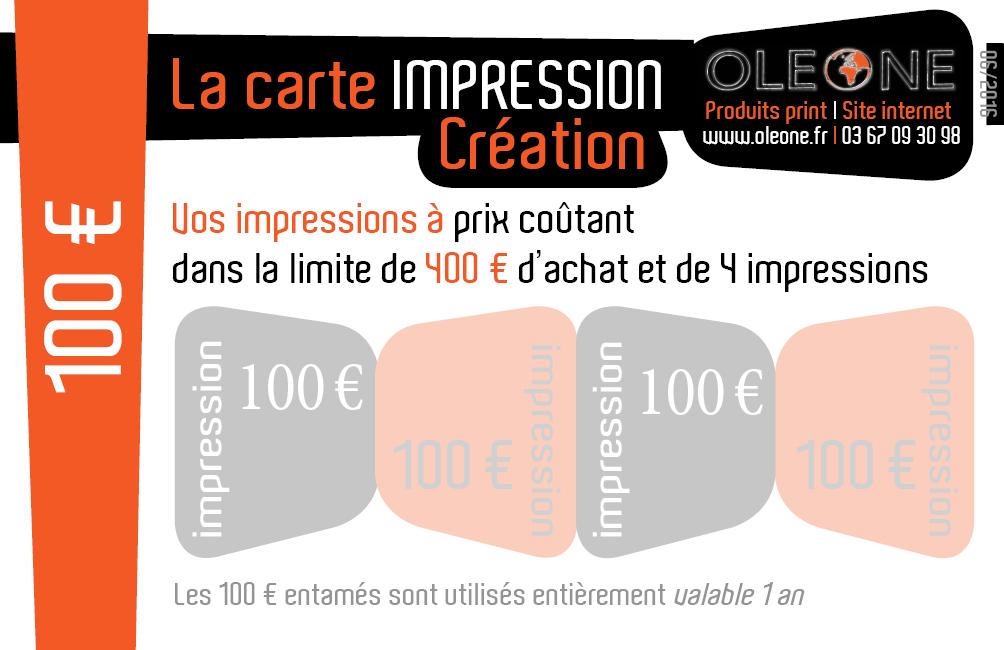 Carte 100 €
